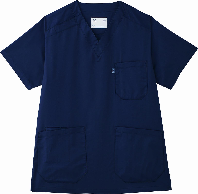 ミズノのスクラブ白衣(MZ0120)