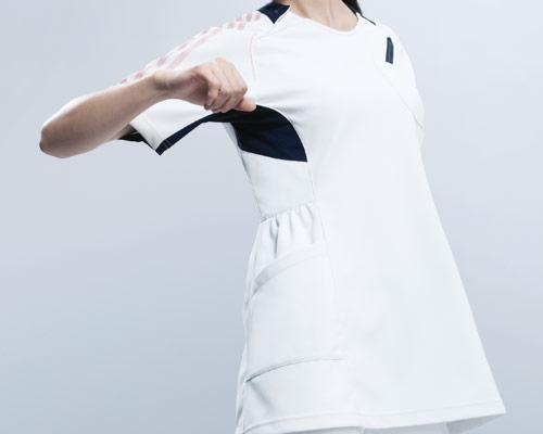 アディダス(adidas) レディースチュニック丈スクラブ(sms001)